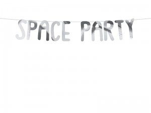 Baner Kosmos - Space Party 13 x 96 cm.